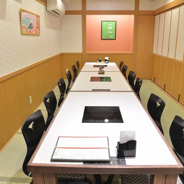 個室は5名様からご利用可能◎お座敷席とテーブル席がございます