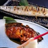 旬の鮮魚を様々な調理法でご提供いたします