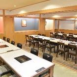 テーブル席個室(13~36名様)