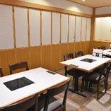 テーブル席個室(5~12名様)