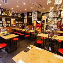 気軽に使える上野の大衆酒場空間♪