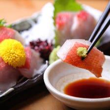 メディア取材多数☆海鮮料理盛り沢山