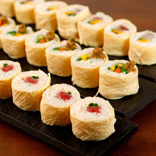 3種の味を堪能する日光名物 栃木県食材を使用した日光湯波巻き