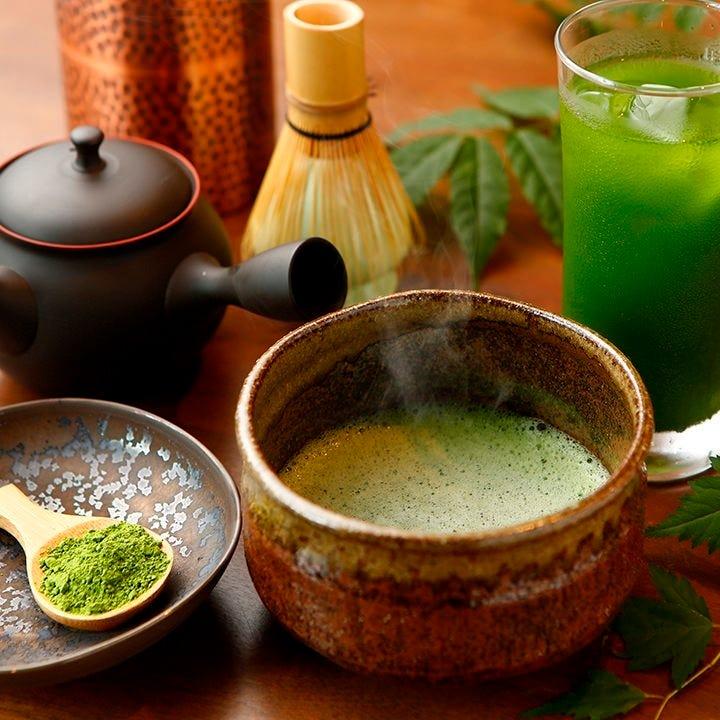 茶種によって抽出温度を 変えるので本来の美味しさを堪能