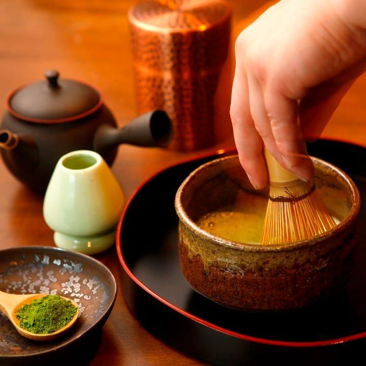 京都の「一保堂茶舗」の茶葉を 日光の美味しい水で淹れた日本茶