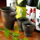 厳選した栃木の地酒も豊富に取り揃えております♪