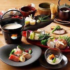 日光湯波巻きと創作料理を堪能 お料理9品 季節の懐石コース「紬」