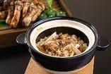 平日限定 松茸土鍋御飯