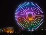 横浜みなとみらいの象徴!大観覧車が一望できます。
