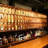 【焼酎】と棚がカッコいいね!週末はデートでいっぱい!