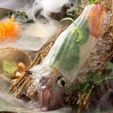 鮮度抜群の厳選した魚をお刺身に!