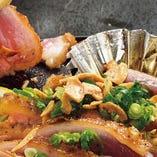 【郷土料理】 冠地鶏など<大分の食>を存分にお召し上がり下さい
