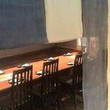 【気軽な飲み会に】 少人数でご利用いただける個室風テーブル席