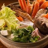 大人気の海鮮よせ鍋!寒い新潟の冬はこれに決まり!