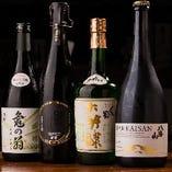 日本酒は、定番~ 銘酒まで幅広く取り揃え!但し売り切れ御免♪