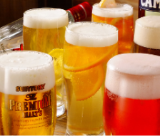 世界のビールも飲み放題★フォアグラソテー&和牛ステーキ♪120分飲み放題付き【涙3800コース】