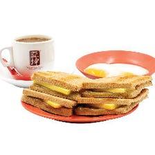 カヤトースト・バター(温玉・ドリンク付き)