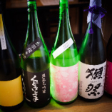 季節によって変わるこだわりの日本酒♪