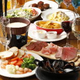 【2.5時間飲み放題付】優雅に食事を楽しむプレミアム女子会コース〈全7品〉
