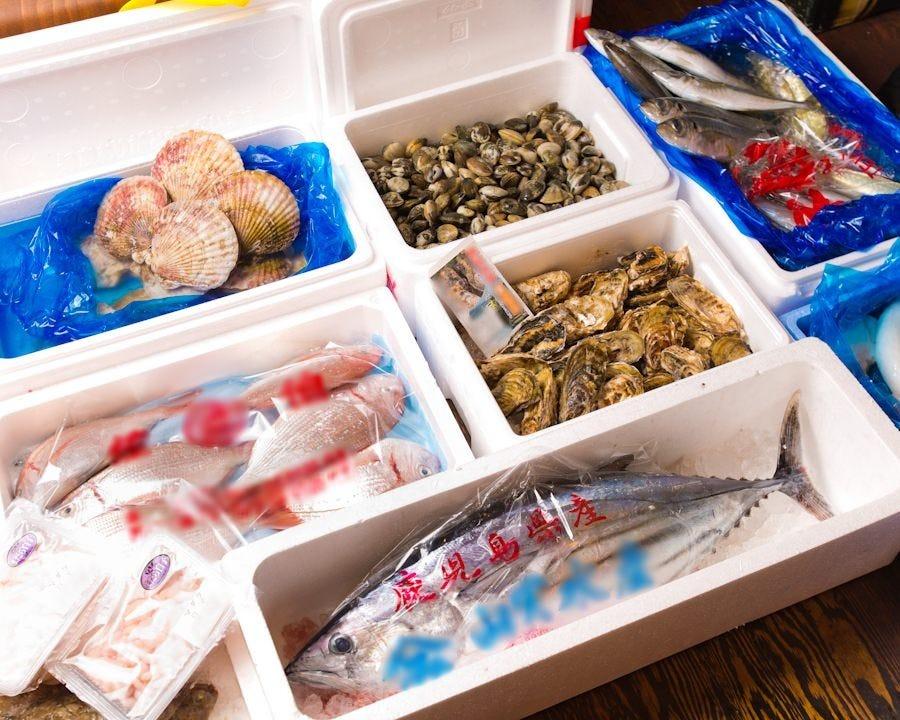 毎日豊洲直送!新鮮な魚