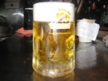 まずは・・・満点生ビール!!!  キリン一番搾り!で乾杯!!