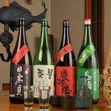 神奈川県産や旬の日本酒拘ってます!