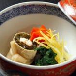 旬の魚・野菜の旨みを 最大限に生かした季節の味