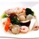【八宝菜】海老、烏賊、ホタテと野菜をあっさり塩味で仕上げます