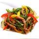【青椒牛肉絲】糸切り牛肉とピーマンの香り炒め。