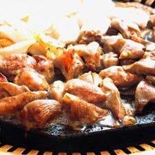 【おすすめ】鶏肉の桜島溶岩焼き