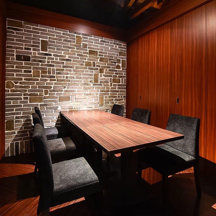 贅沢な個室で九州の鮮魚を堪能する時