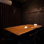 1日1組限定の特別な個室は必見。予約必須です!