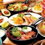 旬の食材を活かした料理と各国のお酒を豊富にご用意!