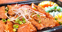 韓国風牛カルビ弁当