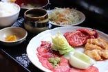 カルビ定食(ホルモン)