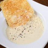 豆乳チーズリゾット