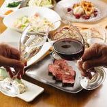 お好きなワインで乾杯!