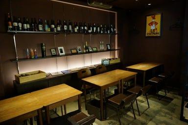 鉄板バル サクマル  店内の画像