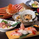 寿司、しゃぶしゃぶなどの食べ放題が充実。