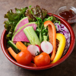 【テイクアウト】《特製味噌付》スティック野菜