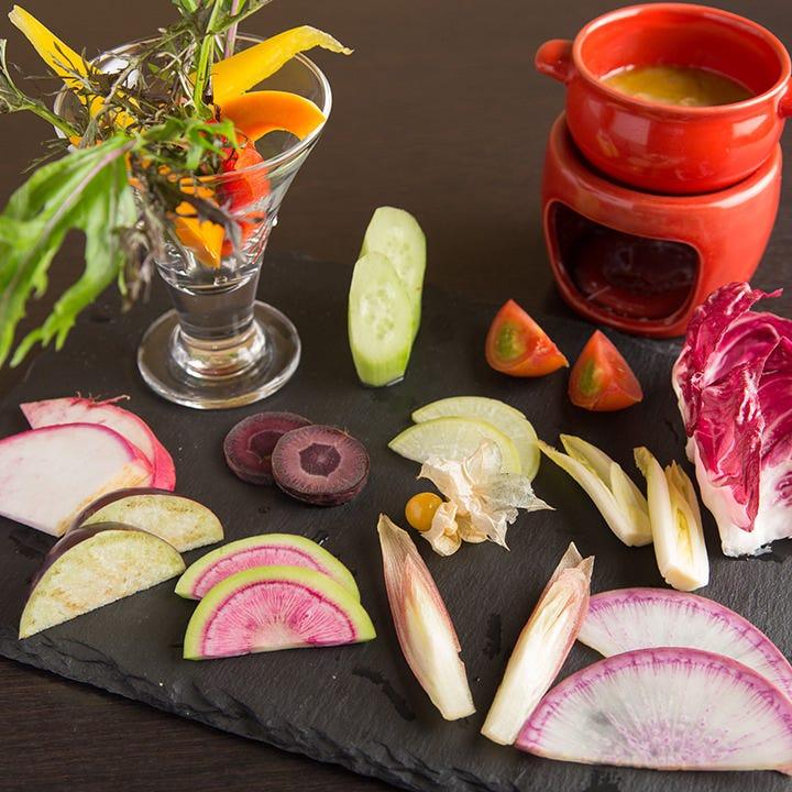農家直送の新鮮野菜や京都特産銘柄豚