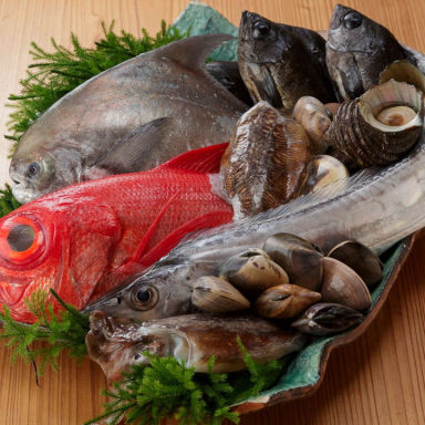 魚菜 八風 岩出店 こだわりの画像