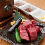 お肉料理も充実!九州を主に、こだわりの和牛を仕入れています!
