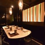 【テーブル個室】 4名からご利用可能な個室空間♪