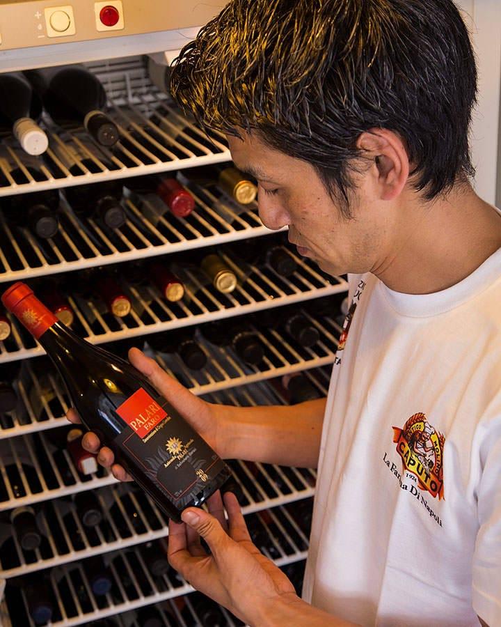 ソムリエのオーナーが厳選したワイン