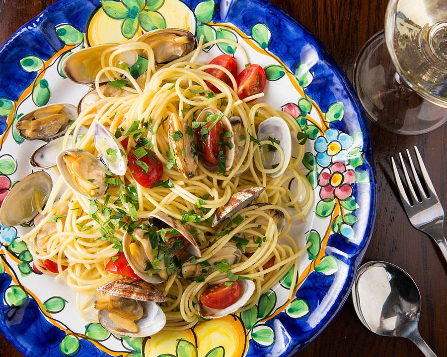 イタリア産の食材と糸島野菜を使用