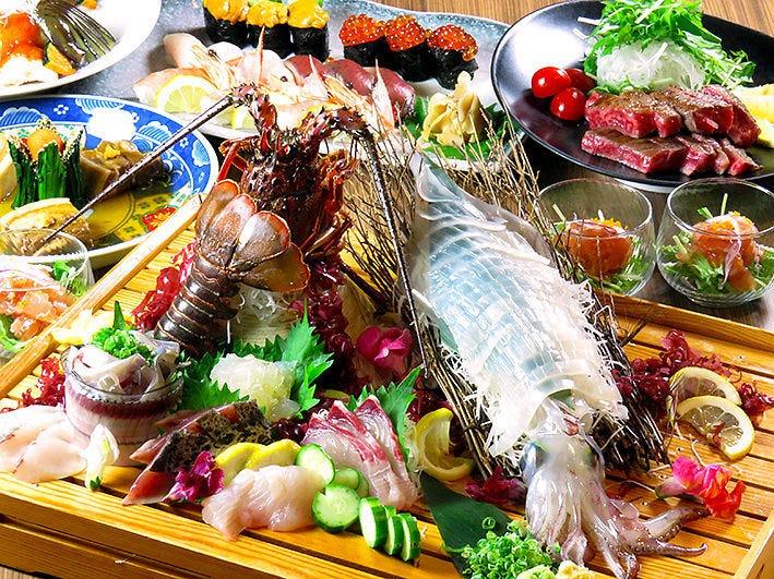 旨い魚菜をご用意!