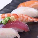にぎり寿司五貫膳