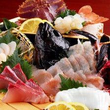 長崎の新鮮魚を毎日仕入れおります