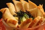 沖縄の味 アボカドとマグロのタルタル